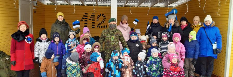 Eesti Vabariigi 103 aastapäeva tähistamine