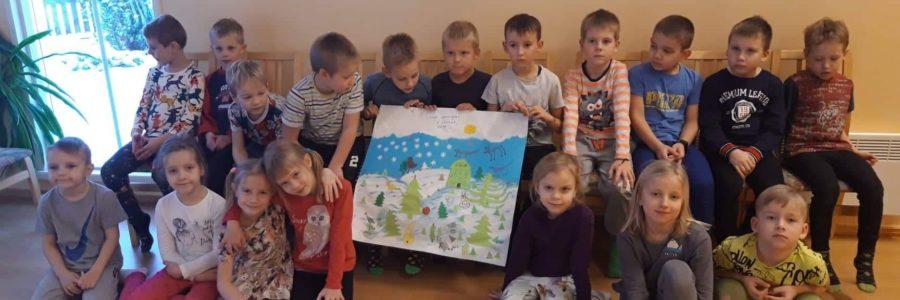 Külalised Laagri Lasteaiast.