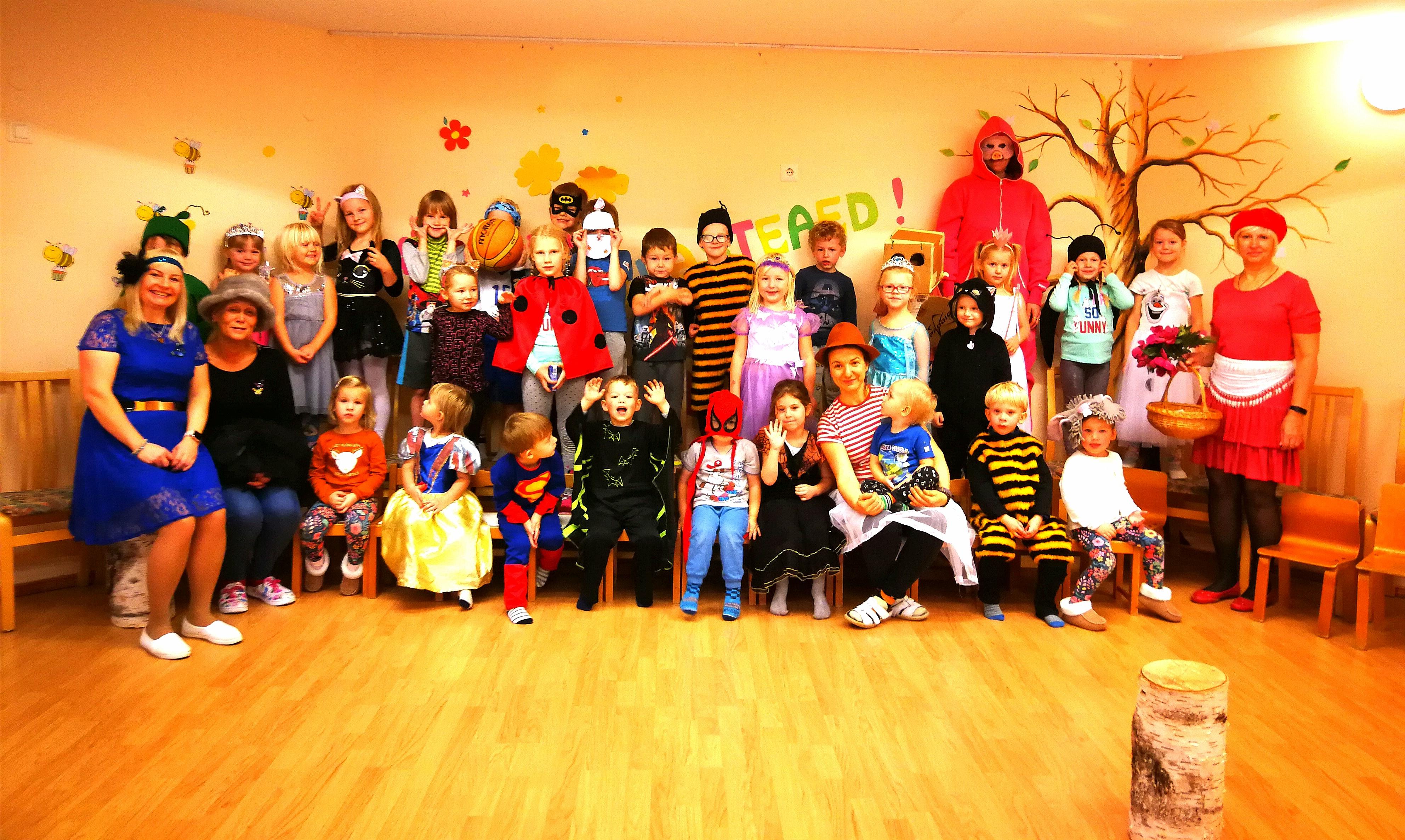 Kostüümipidu lasteaias